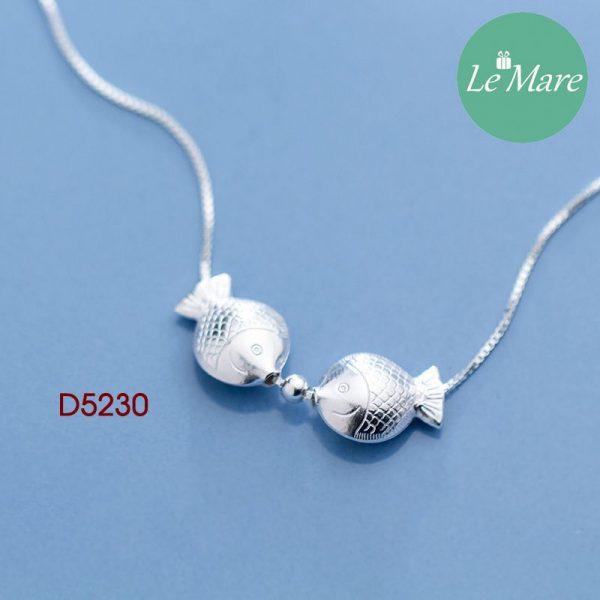 Dây chuyền bạc D5230 1