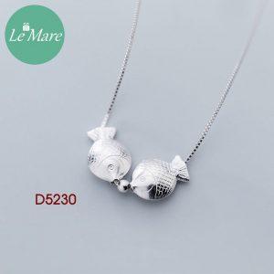 Dây chuyền bạc D5230 5