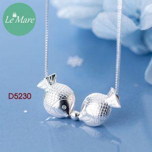 Dây chuyền bạc D5230 6