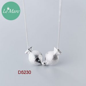 Dây chuyền bạc D5230 7