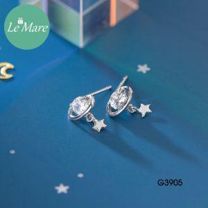 Khuyên tai bạc G3905 5