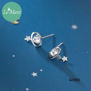 Khuyên tai bạc G3905 6