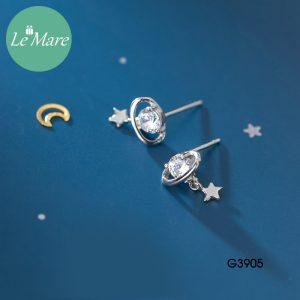 Khuyên tai bạc G3905 7