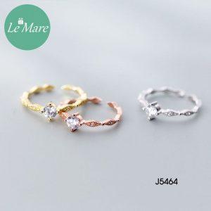 Nhẫn bạc J5464 5