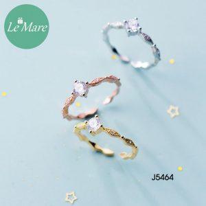 Nhẫn bạc J5464 7