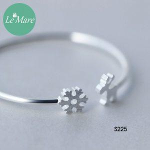 Lắc tay bạc S225 6