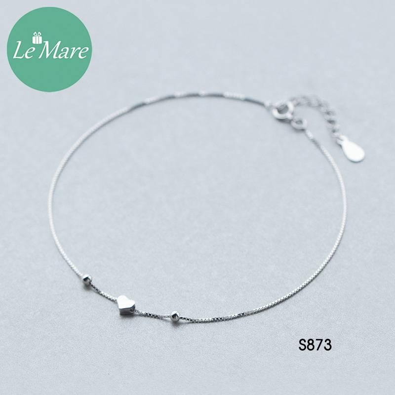Lắc chân bạc S873LC 8