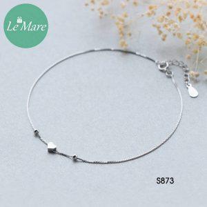 Lắc chân bạc S873LC 6