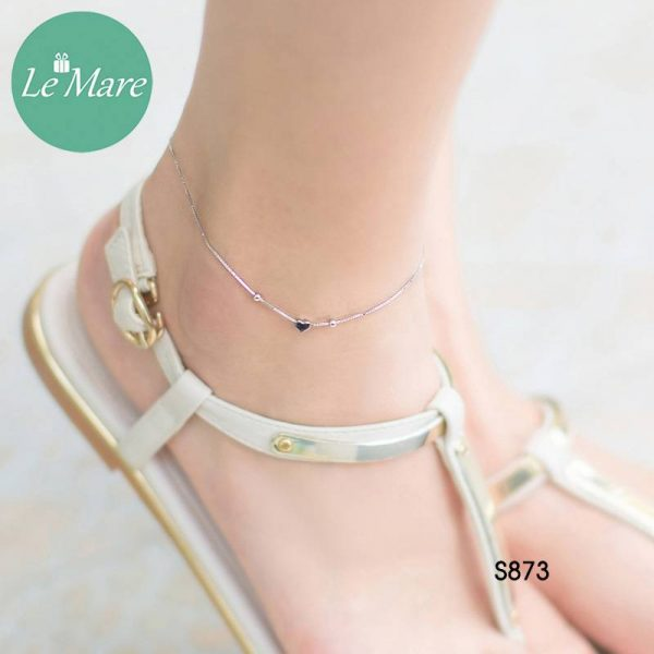 Lắc chân bạc S873LC 4