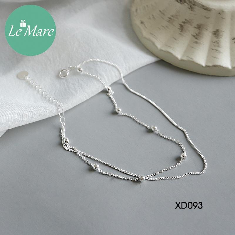Lắc chân bạc XD093 9