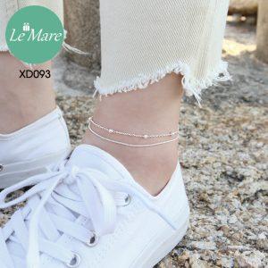 Lắc chân bạc XD093 6