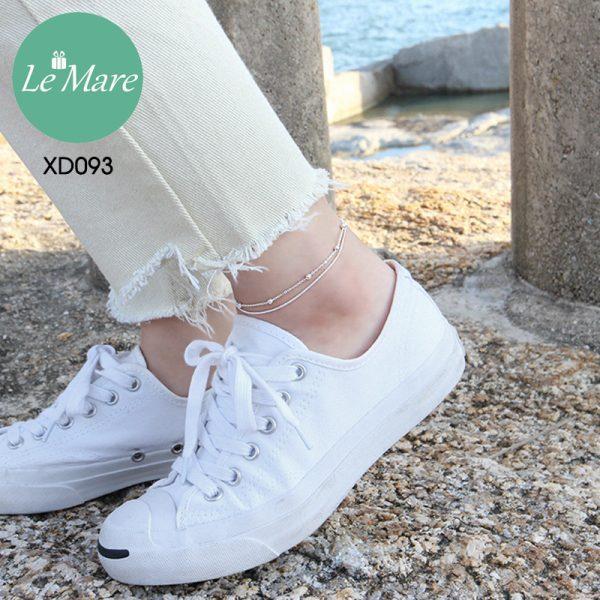 Lắc chân bạc XD093 4