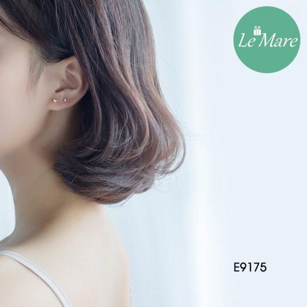 Khuyên tai bạc E9175 7