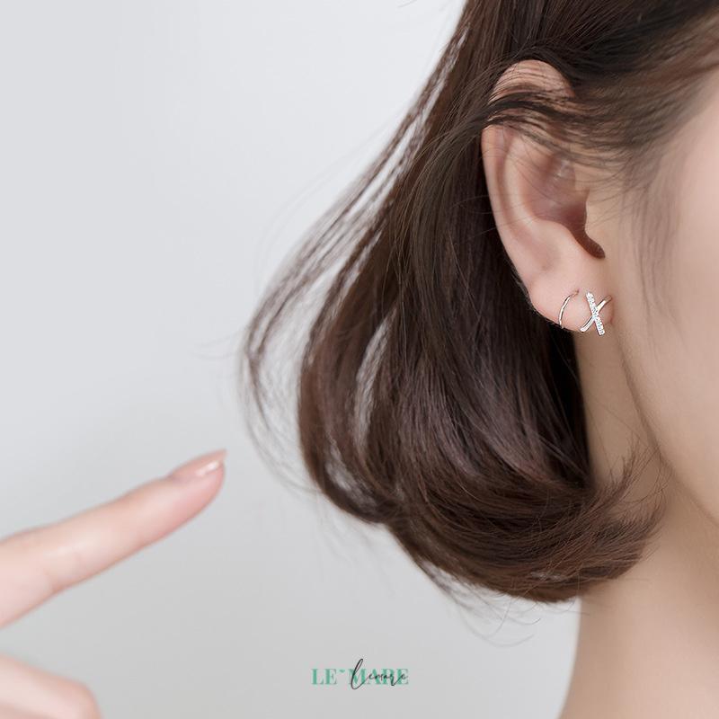 Khuyên tai bạc G4357 10