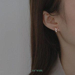 Khuyên tai bạc G4357 9