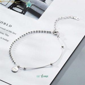 Lắc tay bạc LUCKY S3856 5