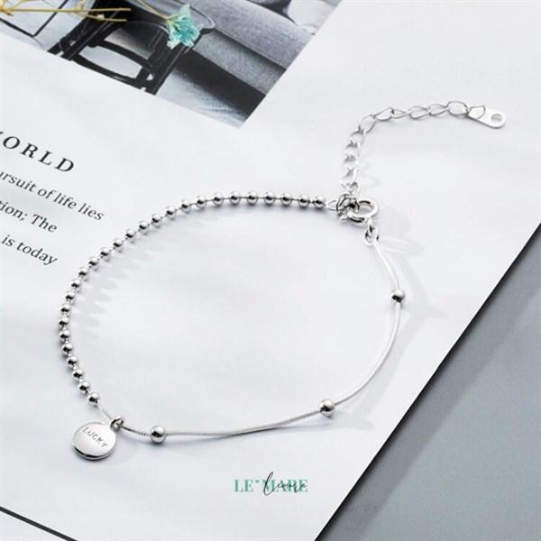 Lắc tay bạc LUCKY S3856 2