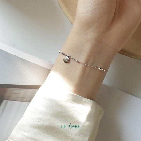 Lắc tay bạc LUCKY S3856 4